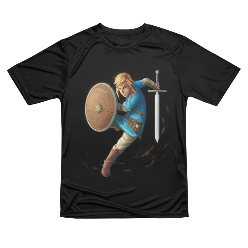 Link - Breath of the Wind Women's Performance Unisex T-Shirt by Laurie's Artist Shop