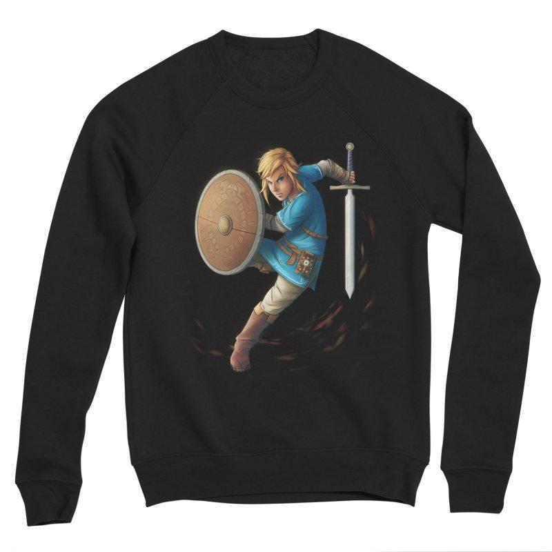 Link - Breath of the Wind Women's Sponge Fleece Sweatshirt by Laurie's Artist Shop