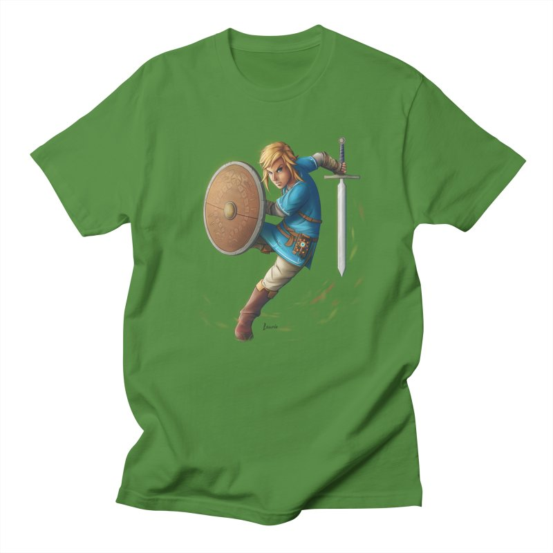 Link - Breath of the Wind Women's T-Shirt by Laurie's Artist Shop