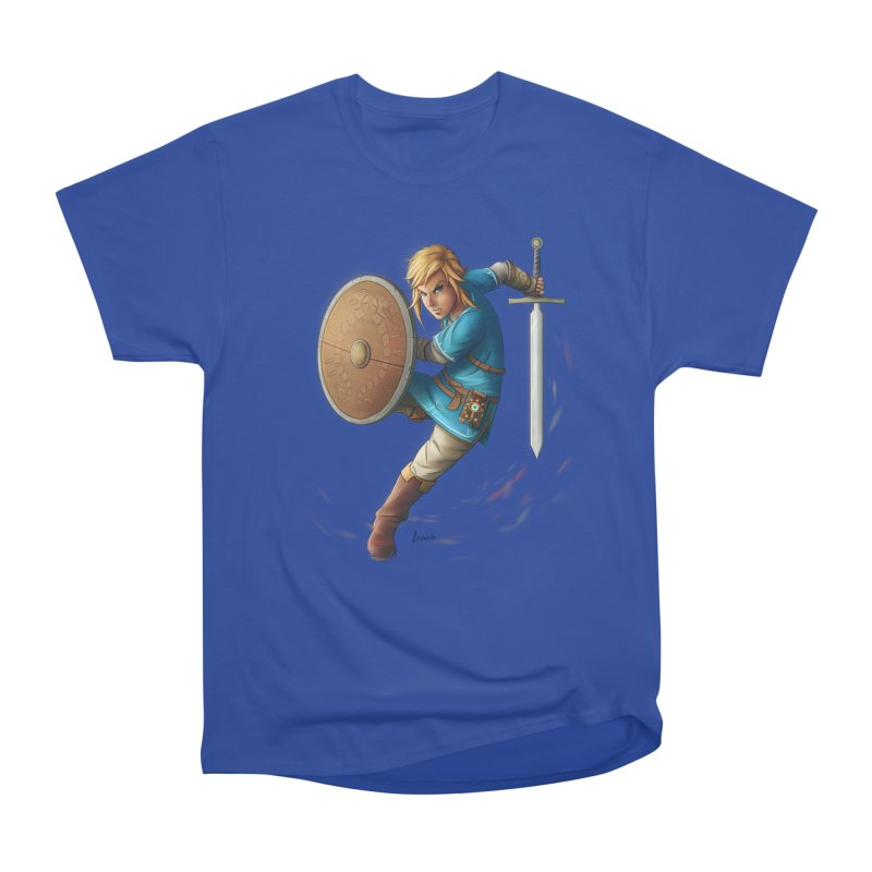 Link - Breath of the Wind Women's Classic Unisex T-Shirt by Laurie's Artist Shop