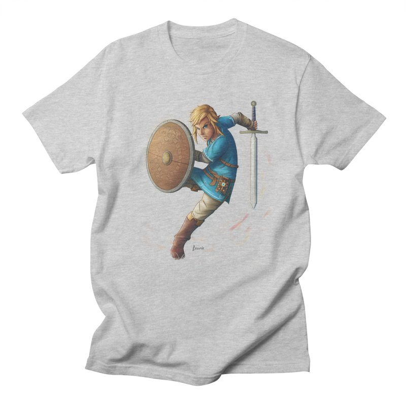 Link - Breath of the Wind Women's Regular Unisex T-Shirt by Laurie's Artist Shop