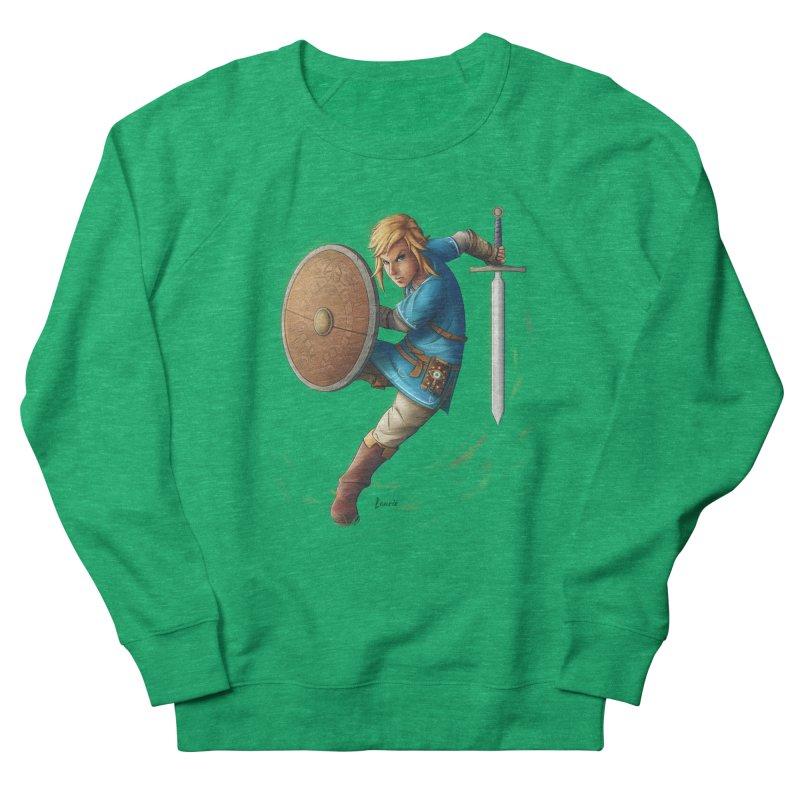 Link - Breath of the Wind Women's Sweatshirt by Laurie's Artist Shop