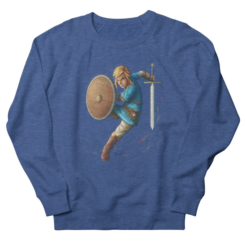 Link - Breath of the Wind Women's Sweatshirt by Laurie's Artist Shop