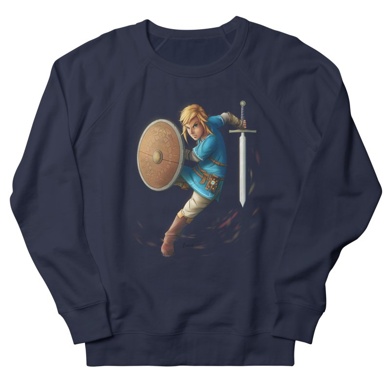 Link - Breath of the Wind Men's Sweatshirt by Laurie's Artist Shop