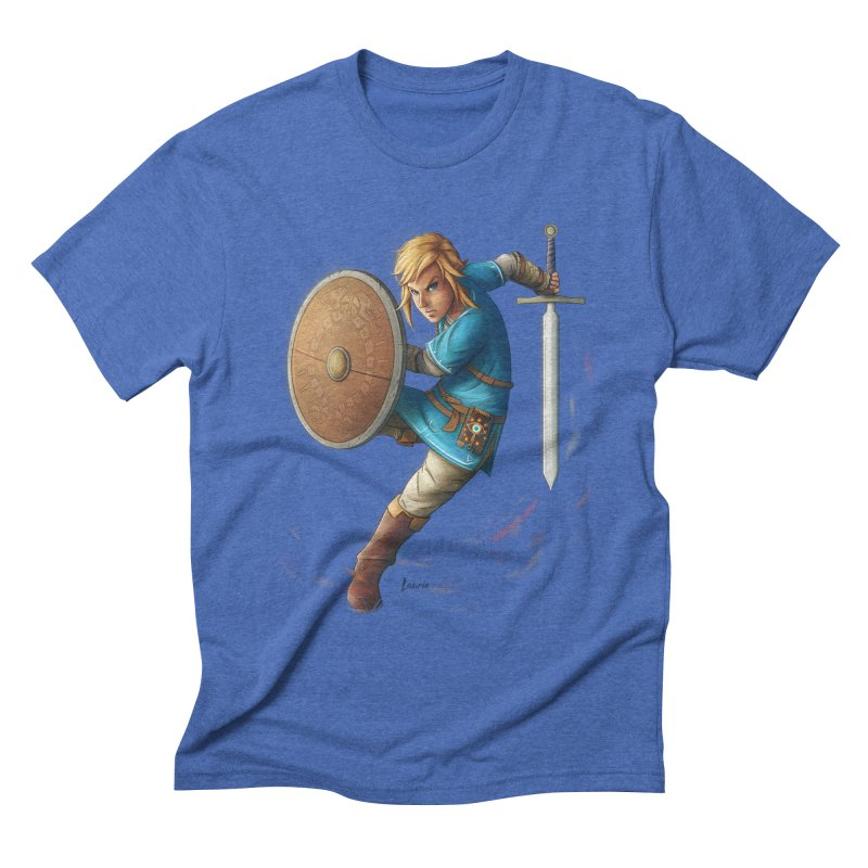 Breath of the Wind Men's Triblend T-shirt by Laurie's Artist Shop