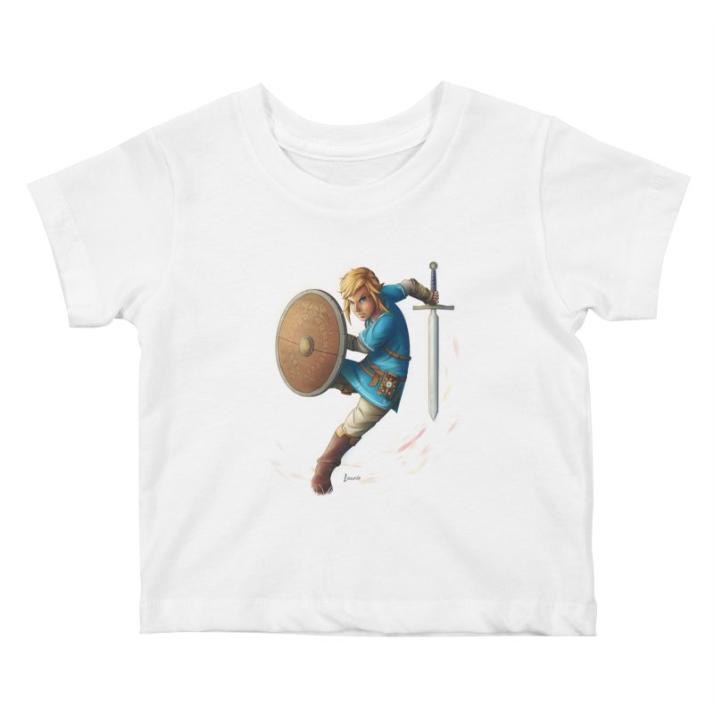 Breath of the Wind Kids Baby T-Shirt by Laurie's Artist Shop
