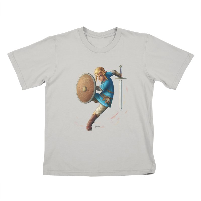 Breath of the Wind Kids T-shirt by Laurie's Artist Shop