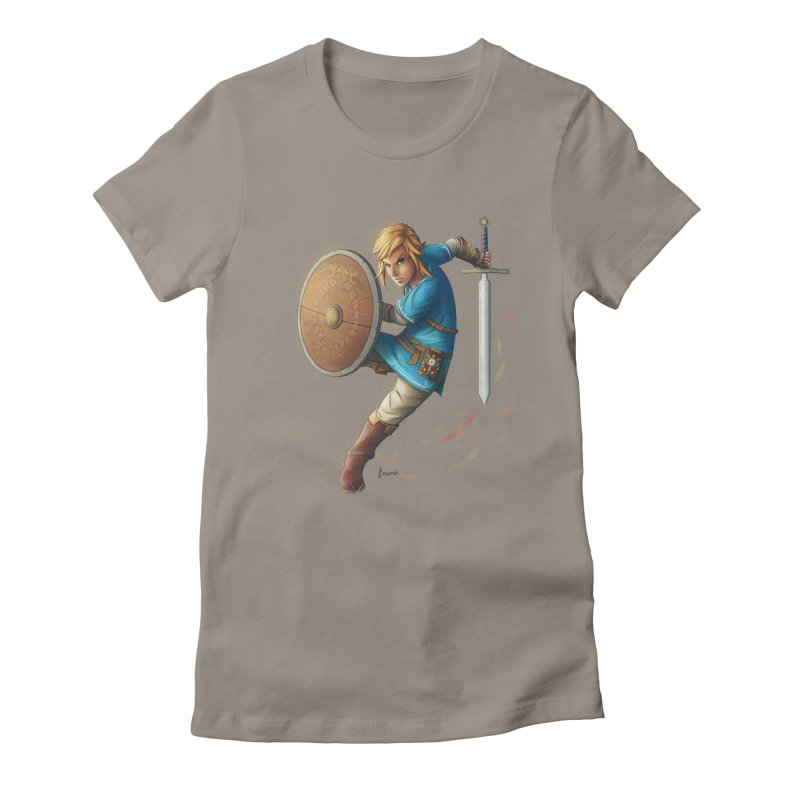 Breath of the Wind Women's Fitted T-Shirt by Laurie's Artist Shop