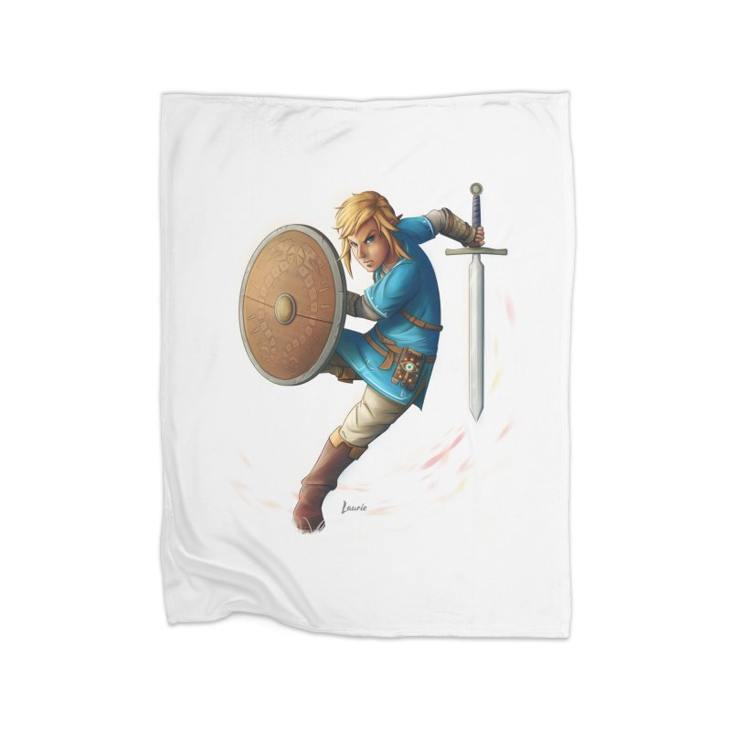 Link - Breath of the Wind Home Blanket by Laurie's Artist Shop
