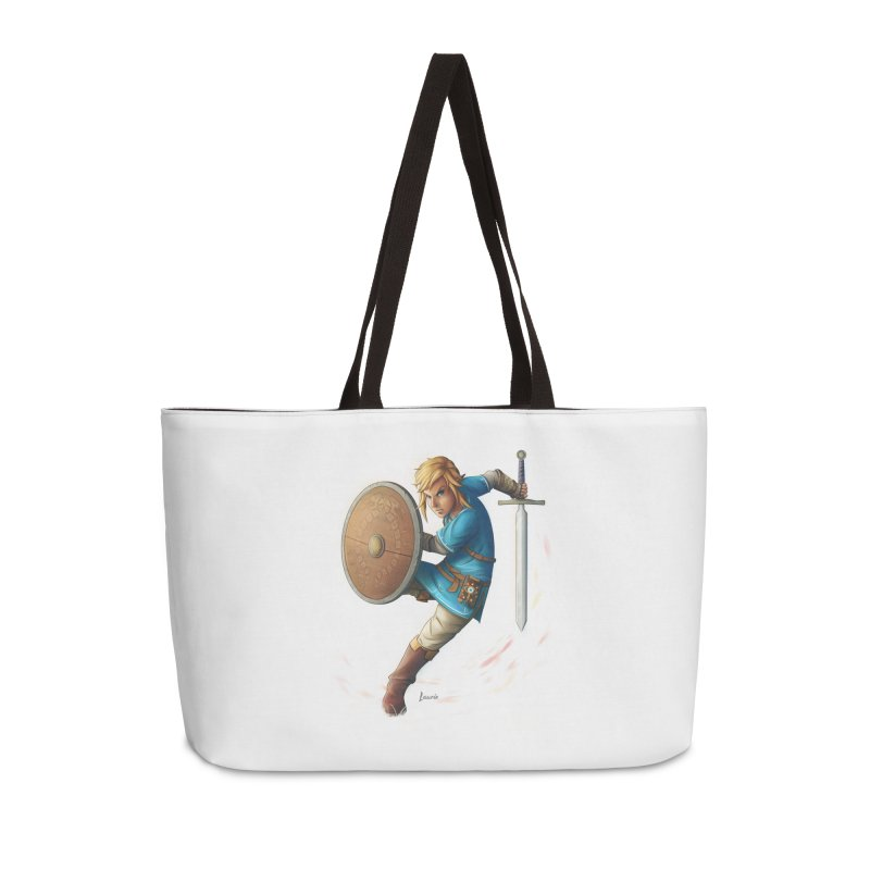Link - Breath of the Wind Accessories Weekender Bag Bag by Laurie's Artist Shop