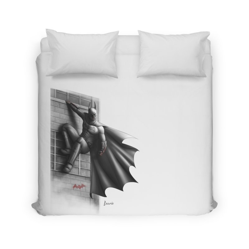 Batman - 50 Shades of Arkham Home Duvet by Laurie's Artist Shop