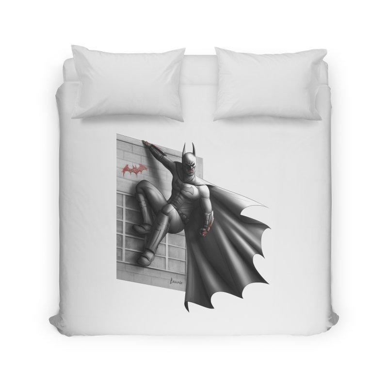 Batman - 50 Shades of Arkham Home Duvet by Laurie's Artist Shop