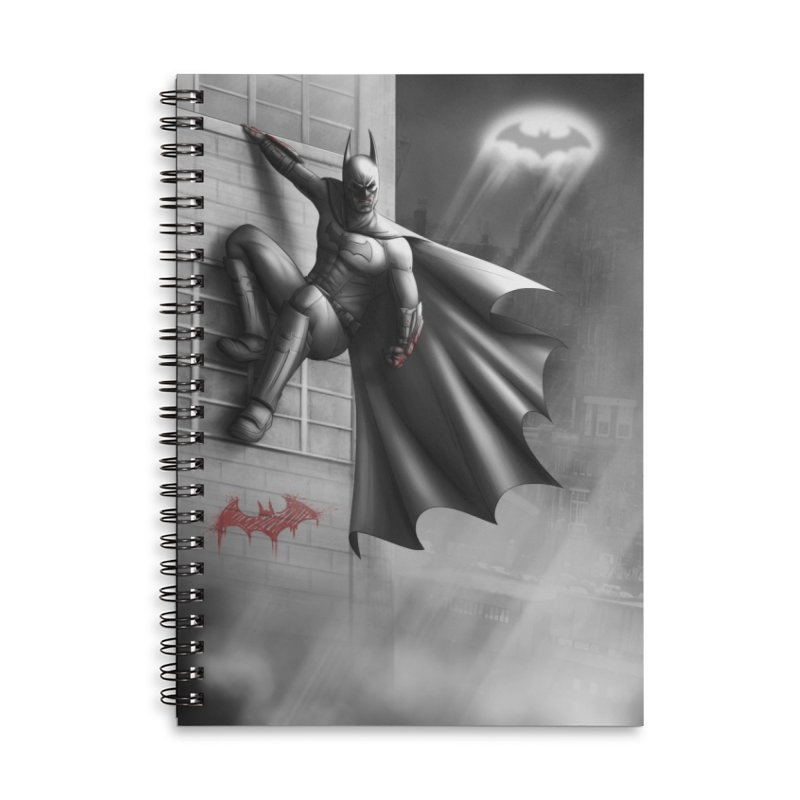 Batman - 50 Shades of Arkham Accessories Notebook by Laurie's Artist Shop