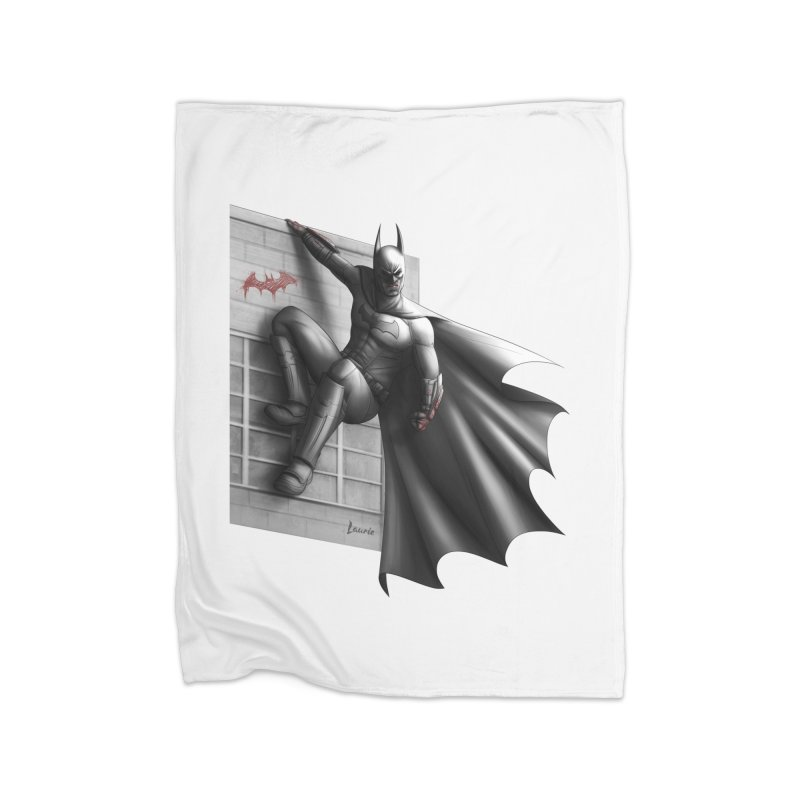 Batman - 50 Shades of Arkham Home Blanket by Laurie's Artist Shop