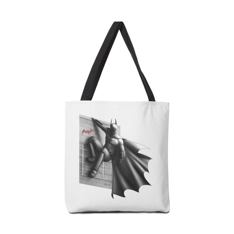 Batman - 50 Shades of Arkham Accessories Bag by Laurie's Artist Shop