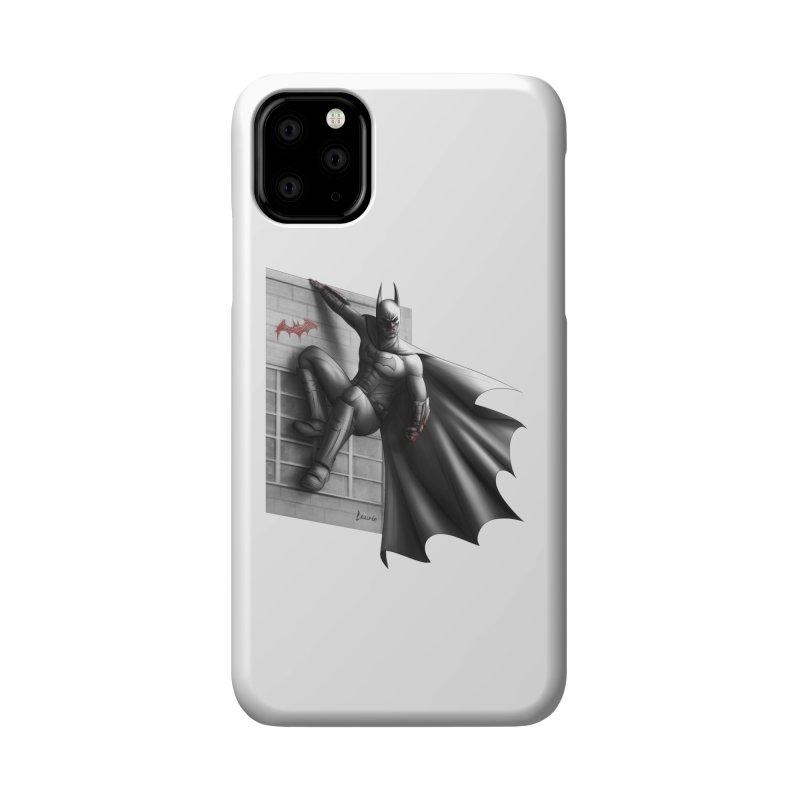 Batman - 50 Shades of Arkham Accessories Phone Case by Laurie's Artist Shop