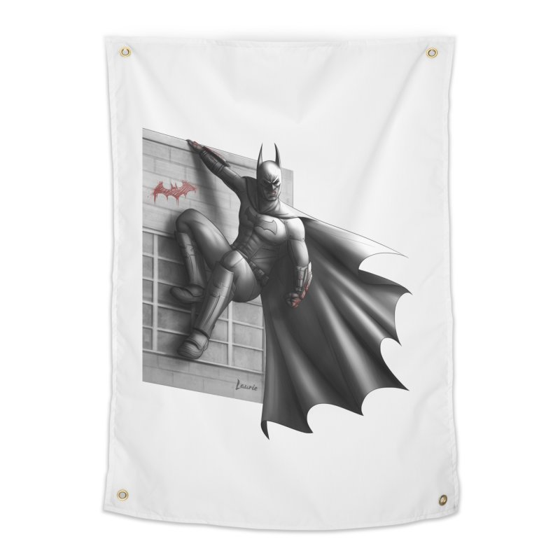 Batman - 50 Shades of Arkham Home Tapestry by Laurie's Artist Shop