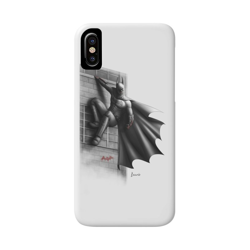 Batman - 50 Shades of Arkham Accessories Phone Case by Laurie's Artist Shop