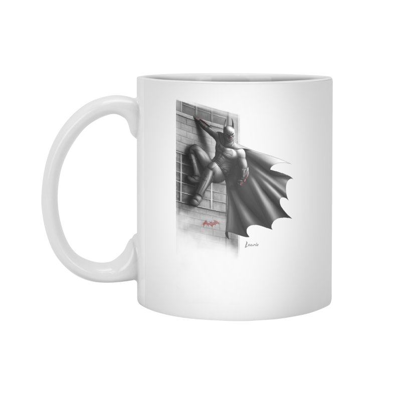 Batman - 50 Shades of Arkham Accessories Standard Mug by Laurie's Artist Shop