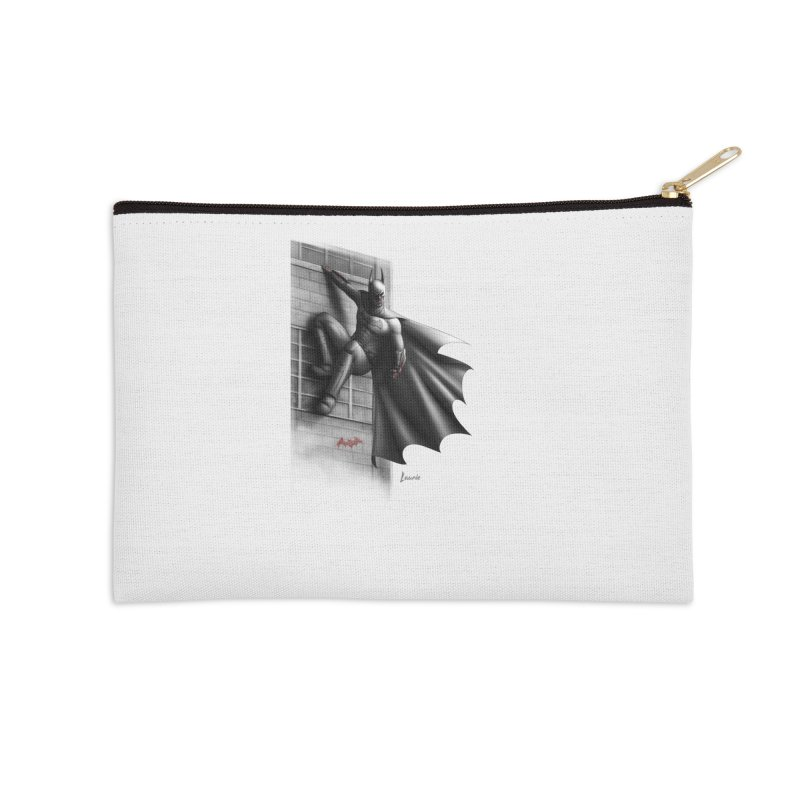 50 Shades of Arkham Accessories Zip Pouch by Laurie's Artist Shop