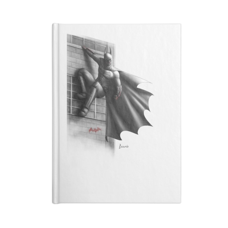 Batman - 50 Shades of Arkham Accessories Lined Journal Notebook by Laurie's Artist Shop