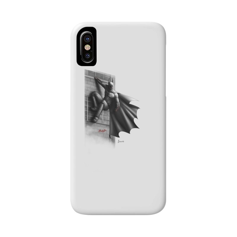 50 Shades of Arkham Accessories Phone Case by Laurie's Artist Shop