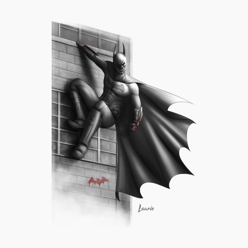 Batman - 50 Shades of Arkham Men's V-Neck by Laurie's Artist Shop