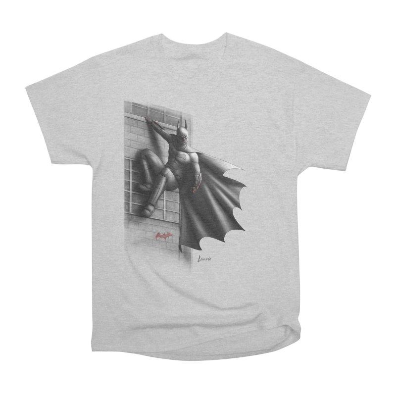 Batman - 50 Shades of Arkham Women's Heavyweight Unisex T-Shirt by Laurie's Artist Shop