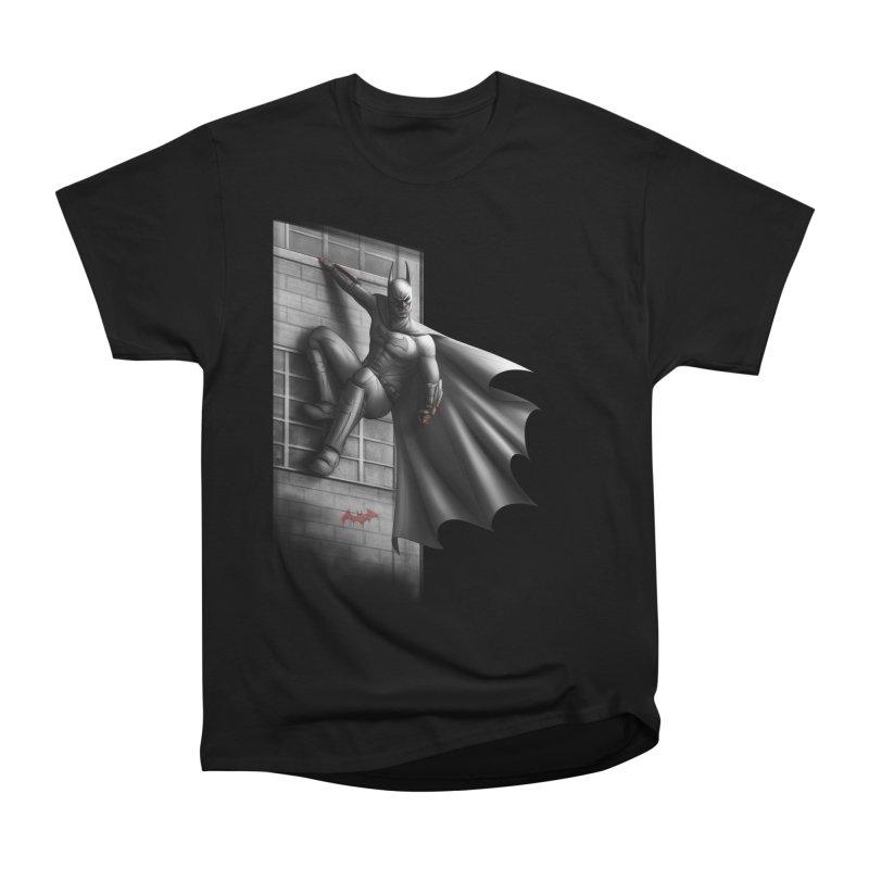 Batman - 50 Shades of Arkham Men's Heavyweight T-Shirt by Laurie's Artist Shop