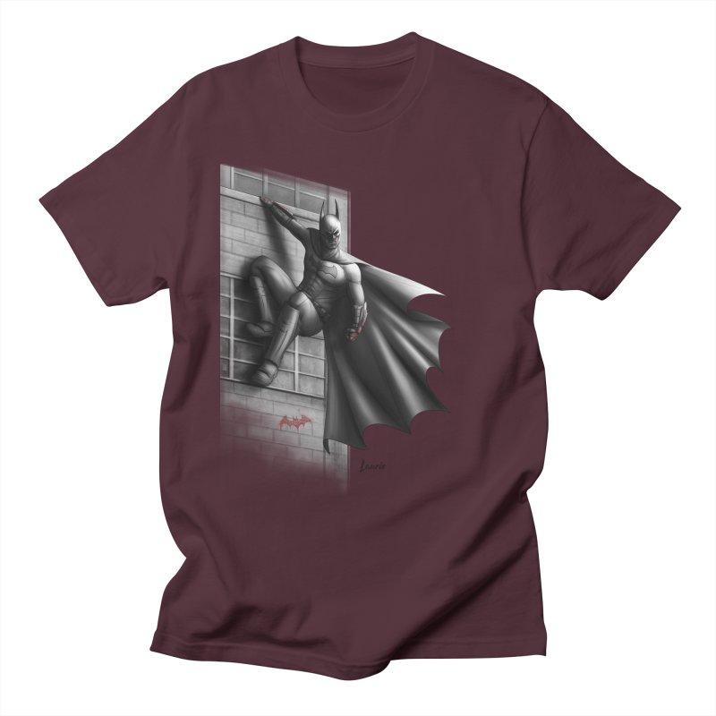 Batman - 50 Shades of Arkham Men's Regular T-Shirt by Laurie's Artist Shop