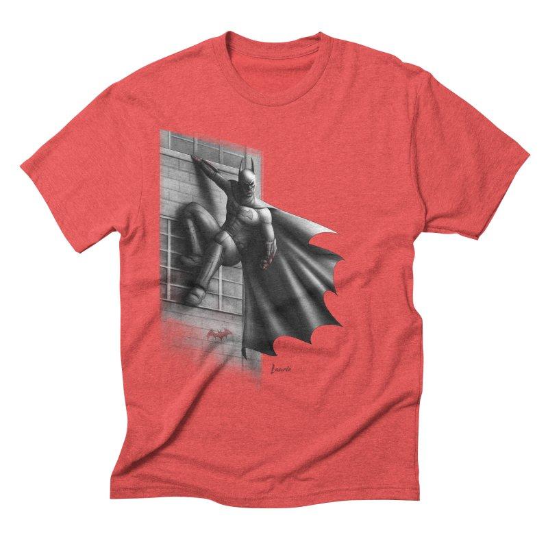 Batman - 50 Shades of Arkham Men's Triblend T-Shirt by Laurie's Artist Shop