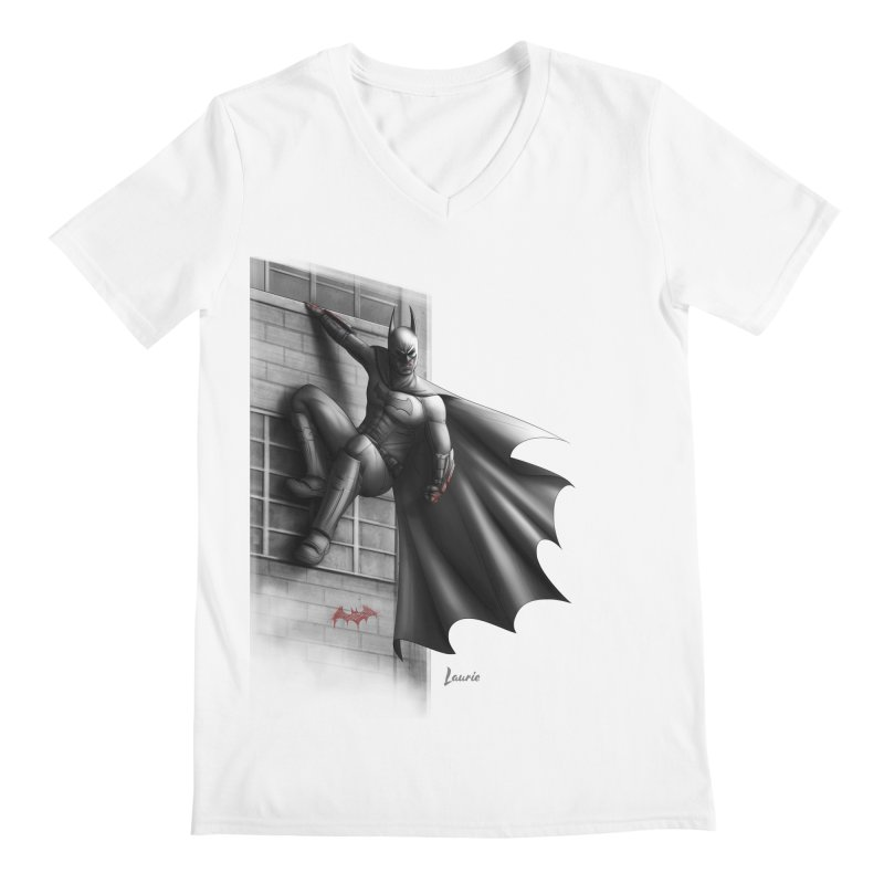 50 Shades of Arkham Men's V-Neck by Laurie's Artist Shop