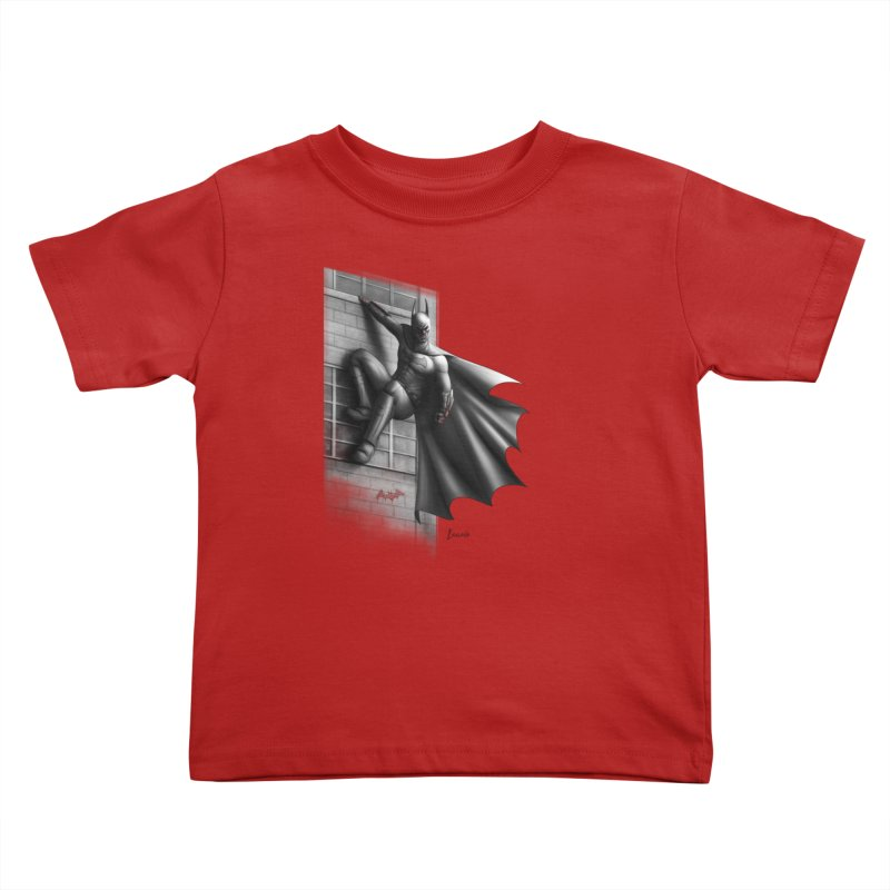 50 Shades of Arkham Kids Toddler T-Shirt by Laurie's Artist Shop