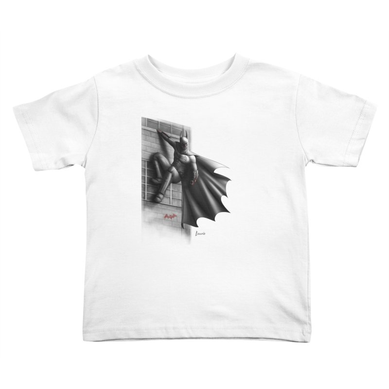 Batman - 50 Shades of Arkham Kids Toddler T-Shirt by Laurie's Artist Shop