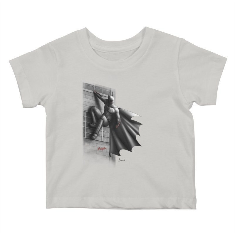 50 Shades of Arkham Kids Baby T-Shirt by Laurie's Artist Shop
