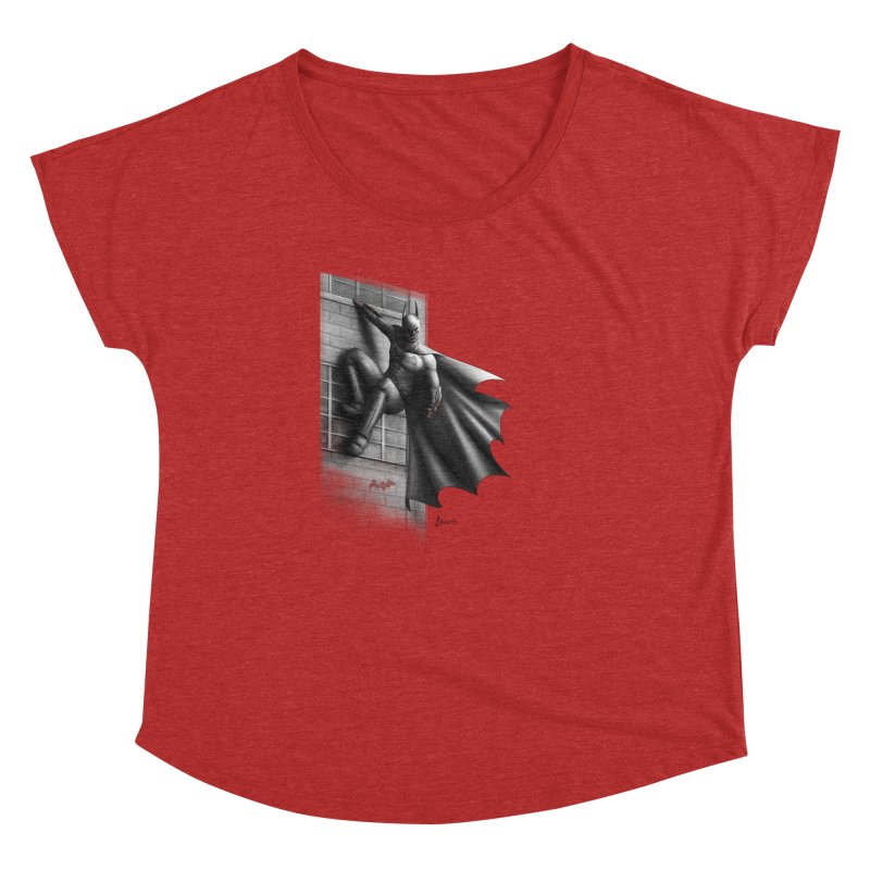 50 Shades of Arkham Women's Dolman by Laurie's Artist Shop