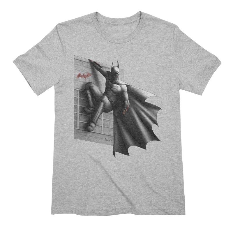 Batman - 50 Shades of Arkham Men's Extra Soft T-Shirt by Laurie's Artist Shop