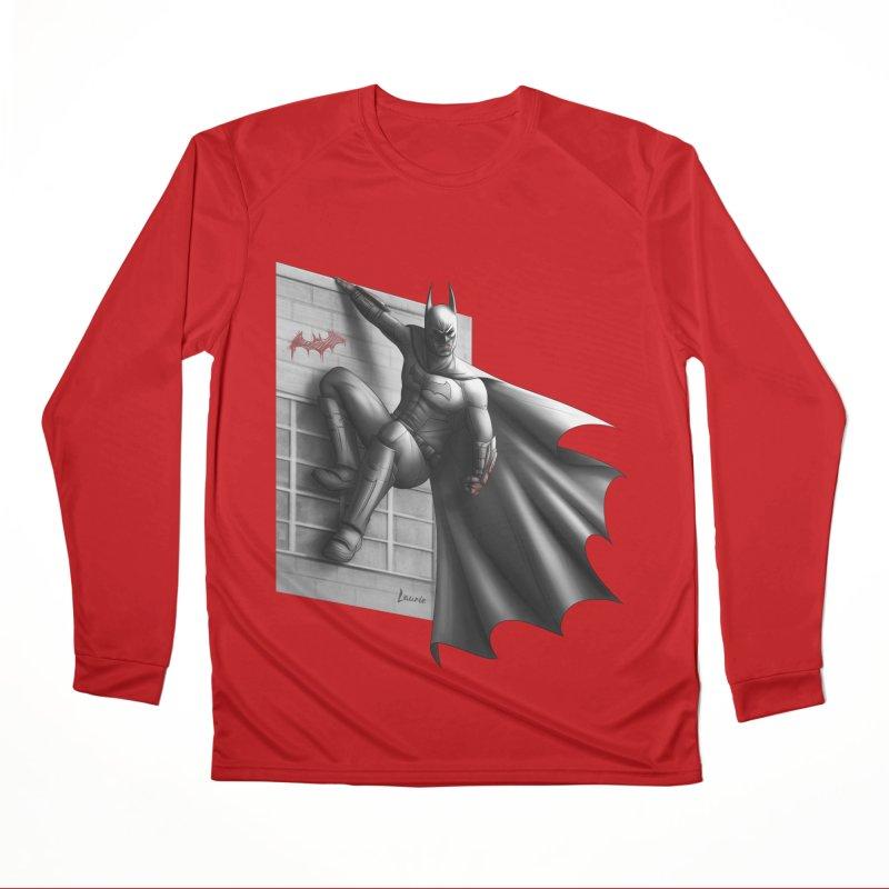 Batman - 50 Shades of Arkham Women's Performance Unisex Longsleeve T-Shirt by Laurie's Artist Shop