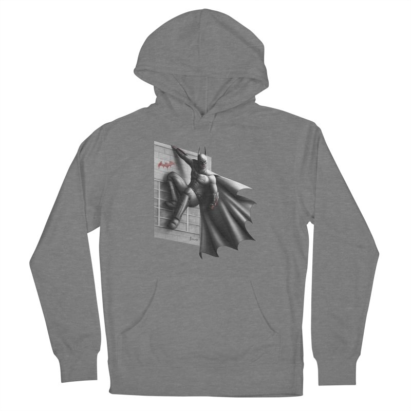 Batman - 50 Shades of Arkham Women's Pullover Hoody by Laurie's Artist Shop