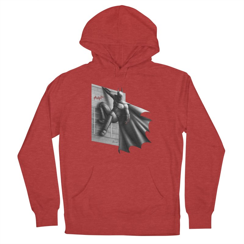 Batman - 50 Shades of Arkham Women's French Terry Pullover Hoody by Laurie's Artist Shop