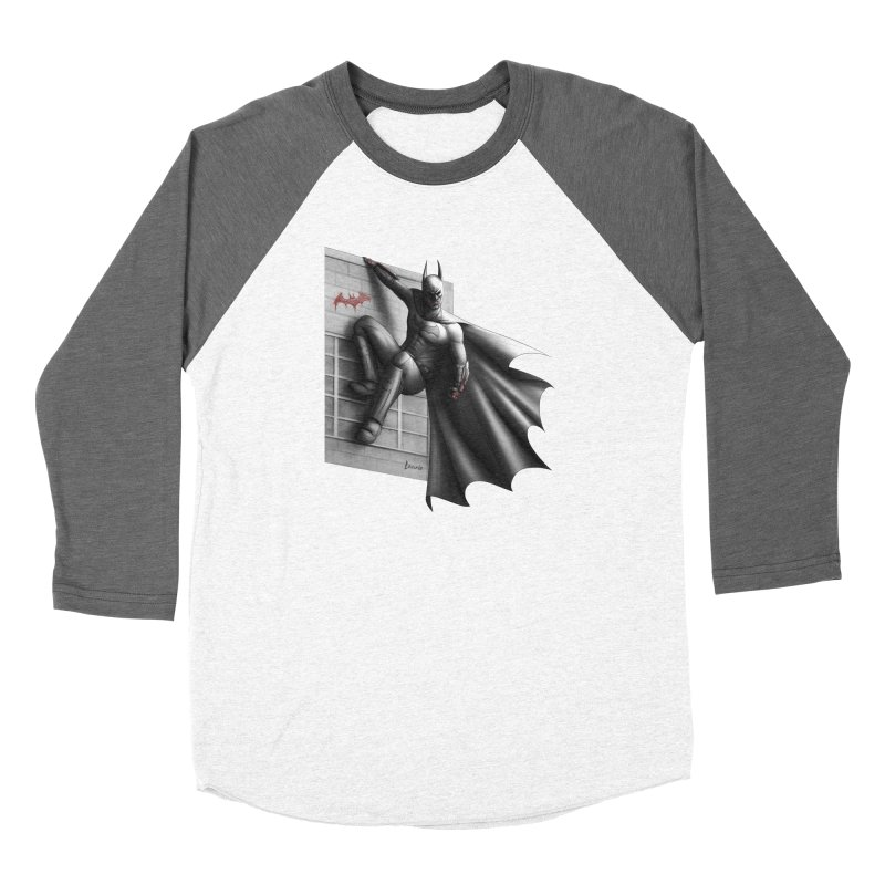 Batman - 50 Shades of Arkham Women's Longsleeve T-Shirt by Laurie's Artist Shop