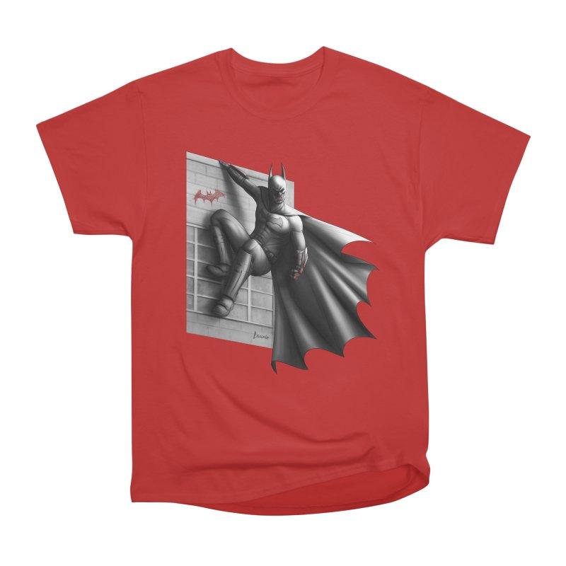 Batman - 50 Shades of Arkham Men's T-Shirt by Laurie's Artist Shop
