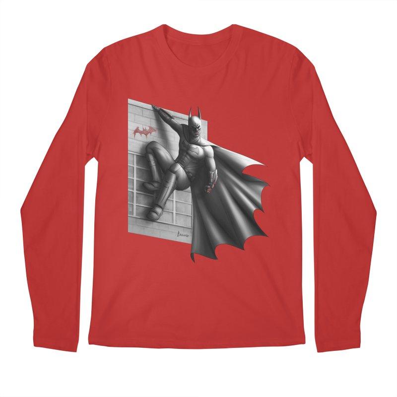 Batman - 50 Shades of Arkham Men's Regular Longsleeve T-Shirt by Laurie's Artist Shop