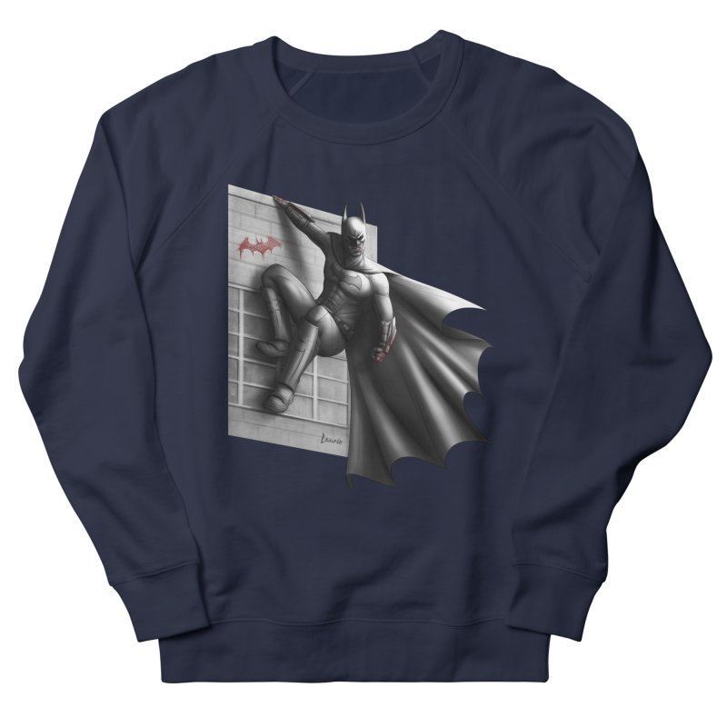Batman - 50 Shades of Arkham Women's French Terry Sweatshirt by Laurie's Artist Shop
