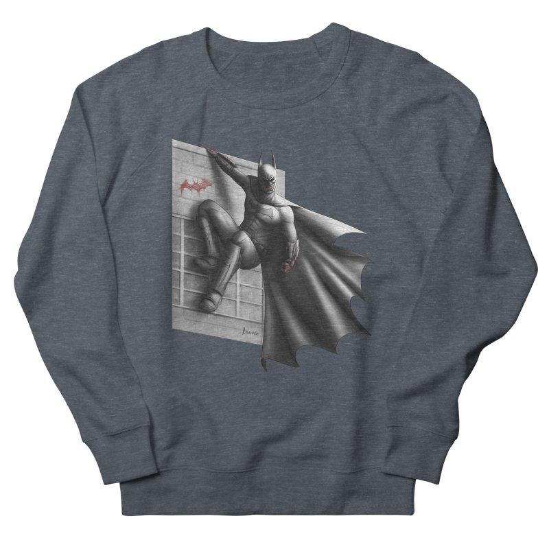 Batman - 50 Shades of Arkham Men's Sweatshirt by Laurie's Artist Shop