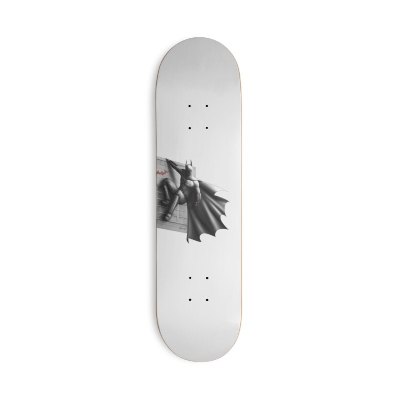 Batman - 50 Shades of Arkham Accessories Deck Only Skateboard by Laurie's Artist Shop