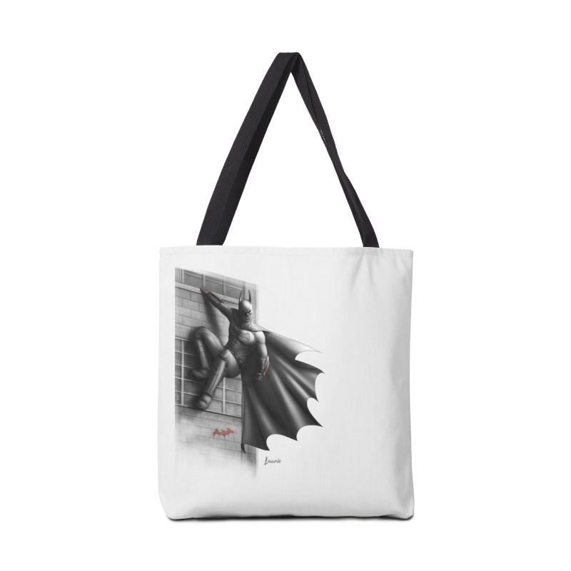 Batman - 50 Shades of Arkham Accessories Tote Bag Bag by Laurie's Artist Shop