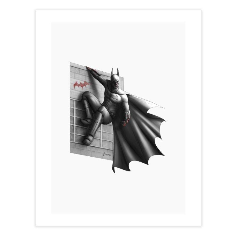 Batman - 50 Shades of Arkham Home Fine Art Print by Laurie's Artist Shop