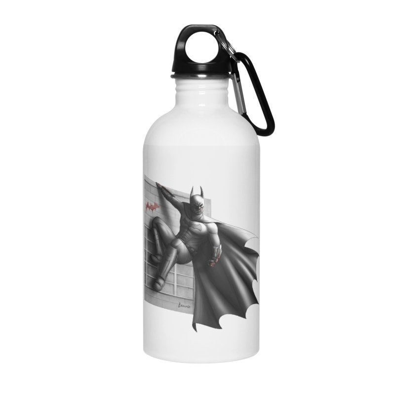 Batman - 50 Shades of Arkham Accessories Water Bottle by Laurie's Artist Shop