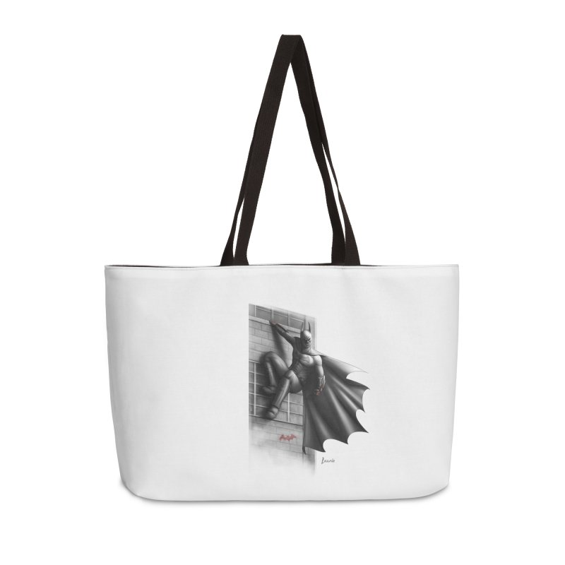 Batman - 50 Shades of Arkham Accessories Weekender Bag Bag by Laurie's Artist Shop